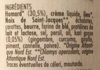 Rillettes de homard - Ingrediënten - fr