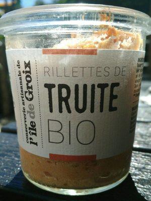 Rillettes de truite bio - Product