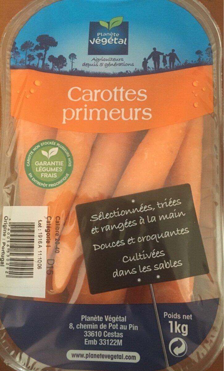 Carotte primeur, Portugal, barquette - Ingredients - fr