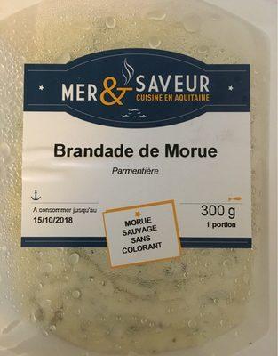 Brandade de morue parmentière - Product - fr