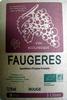 Vin rouge Faugères AOP - Product