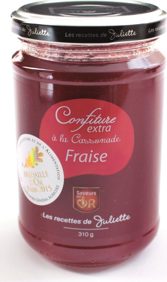 Confiture extra Fraises à la cassonade - Produit - fr