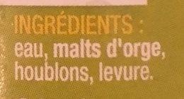 Blonde - Ingrediënten