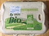 Oeufs bio - Product