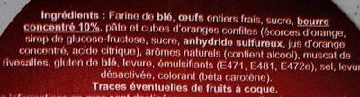Pogne de Romans - Ingrédients - fr