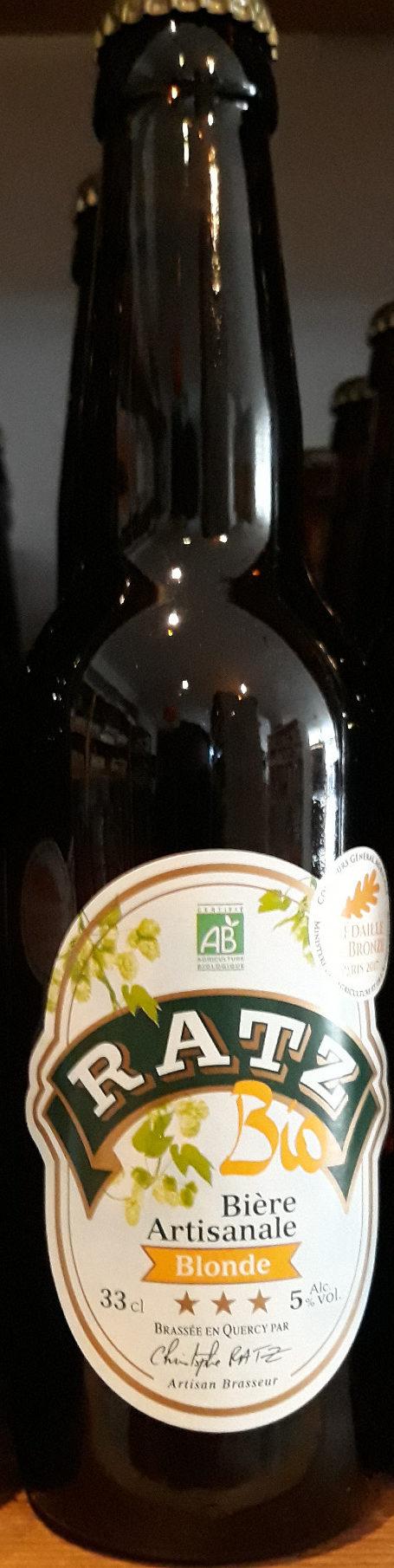 Biere Blonde 33CL Artisanale Bio - Product - fr