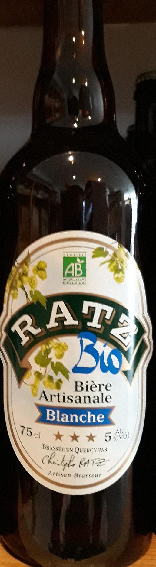 Biere Blanche Artisanale Bio - Product - fr