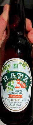 Bière artisanale ambrée - Product - fr