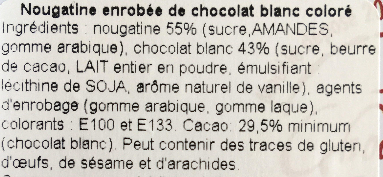 Boîte La Vendée - Ingrédients - fr