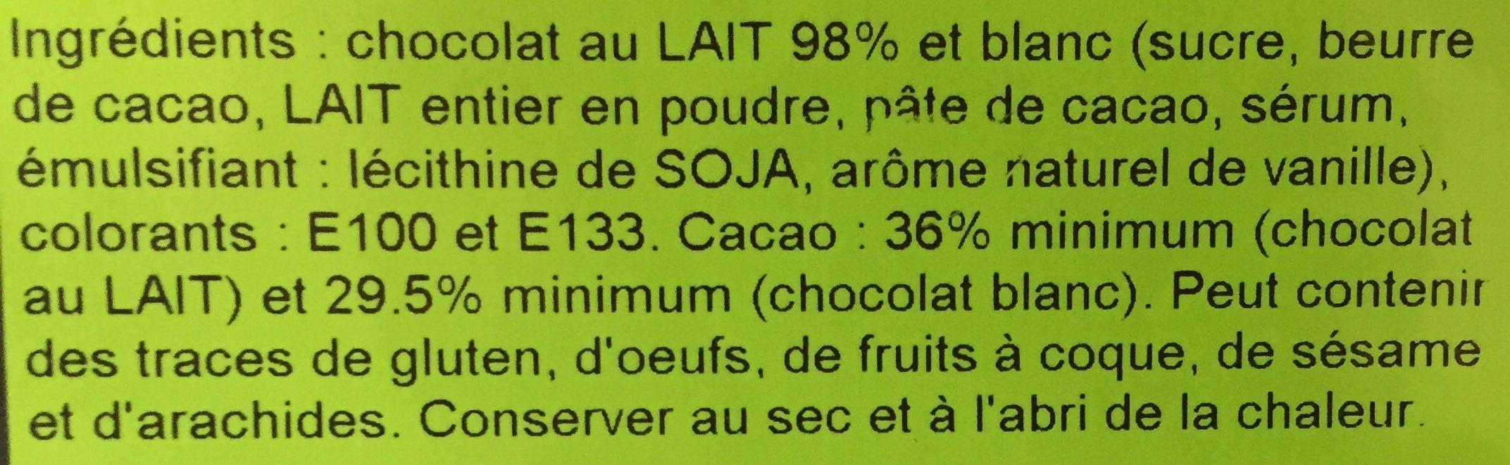 Dinosaure en chocolat - Ingrédients - fr