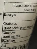 Amandes enrobées au caramel pralines aux amandes - Nutrition facts