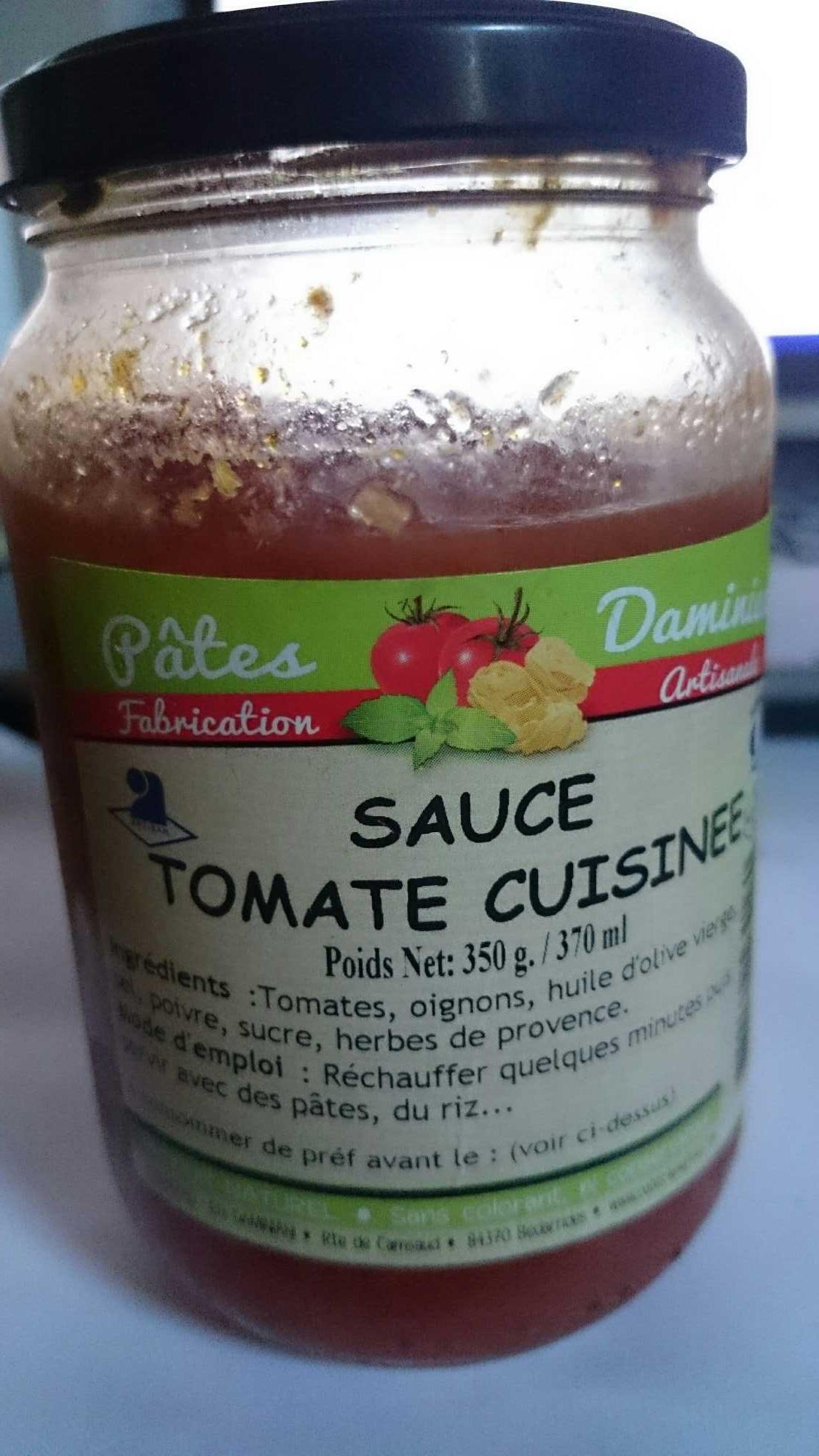 Sauce tomate cuisin e pates daminiani 350g for Sauce tomate cuisinee