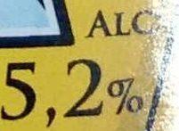 La Saint-Pierre Bière blanche d'Alsace - Informations nutritionnelles - fr