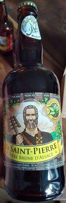 La Saint-Pierre Bière brune d'Alsace - Produit - fr
