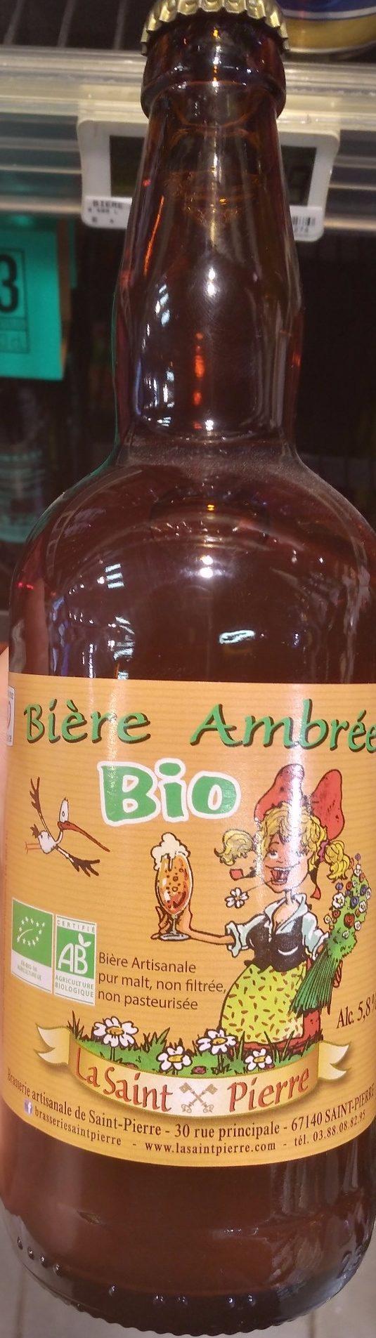 Bière Ambrée Bio - Produkt - fr