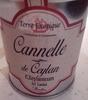 Cannelle en poudre - Produit