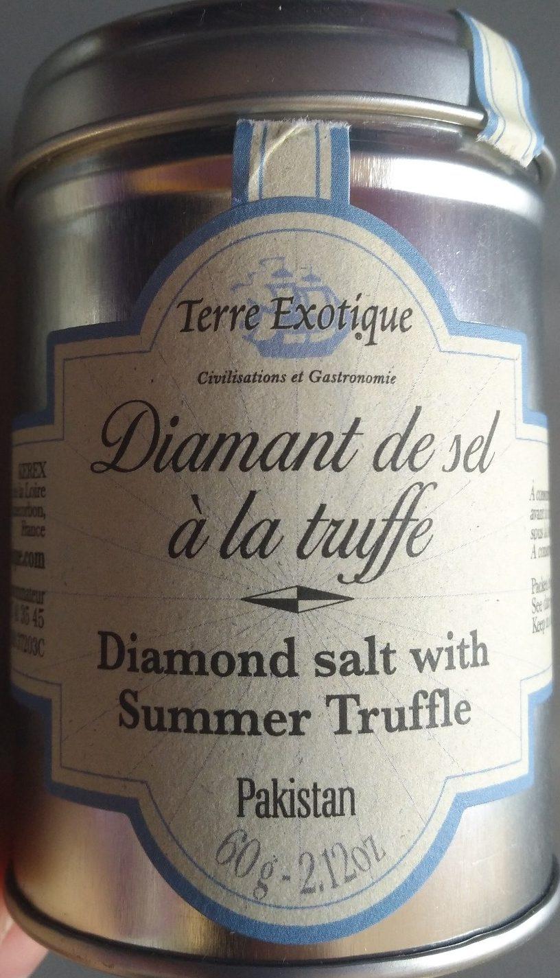 Diamant De Sel à La Truffe Blanche D'été - Produit