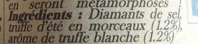 Diamant De Sel à La Truffe Blanche D'été - Ingrédients