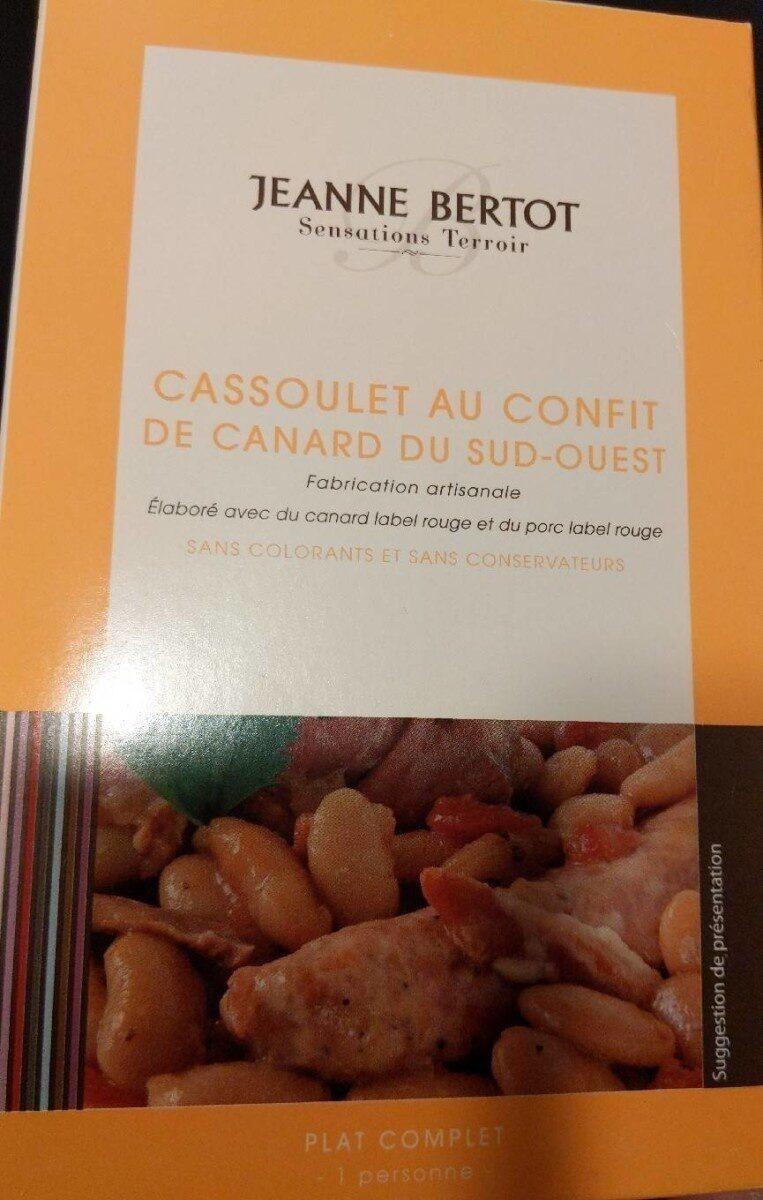 Cassoulet au confit de canard du sud-ouest - Produit - fr
