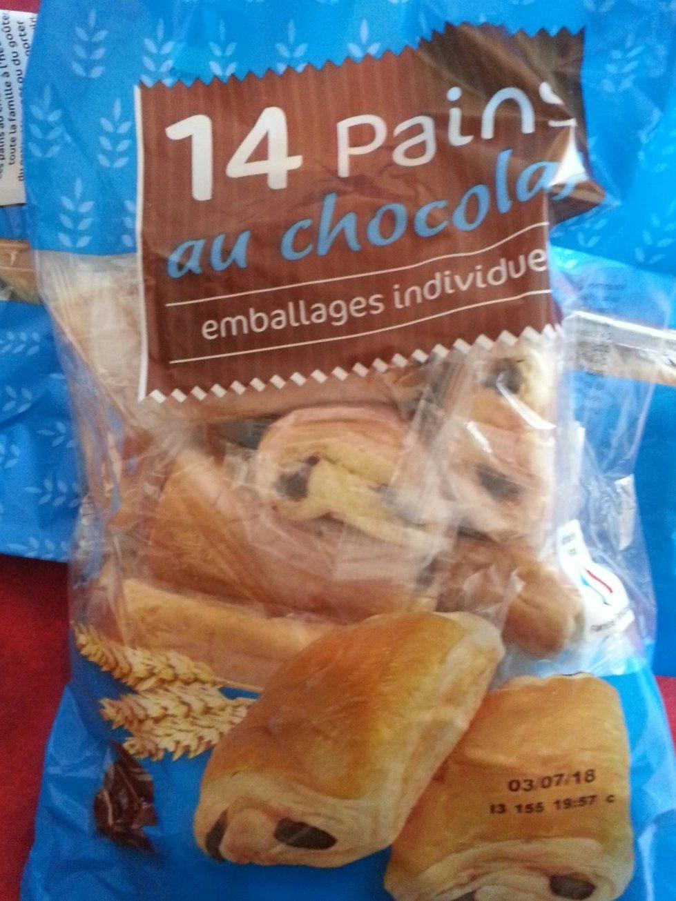 Pains au chocolat x14 - Product - fr