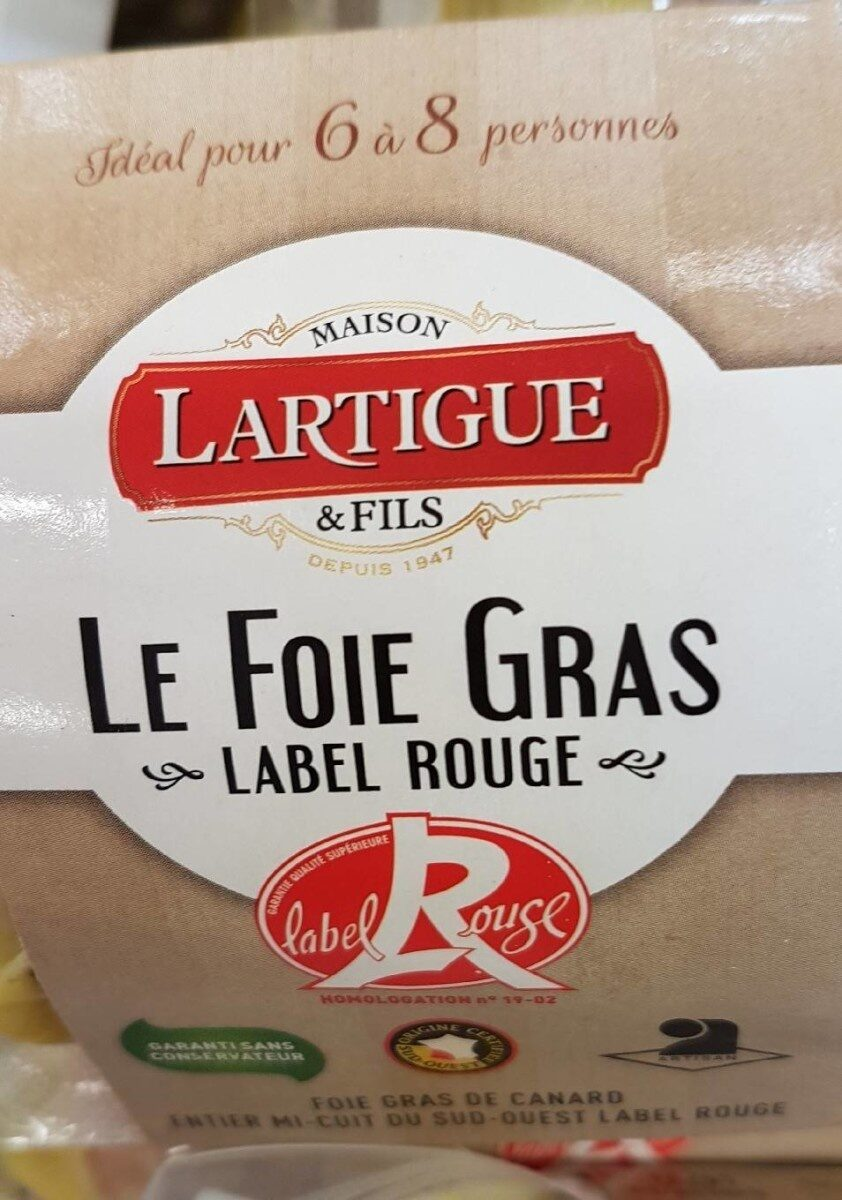 Foie gras mi cuit label rouge - Product - fr