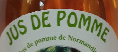 Jus de pomme de Normandie - Ingredients