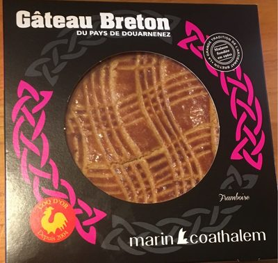 Gâteau Breton du Pays de Douarnenez Framboise - Produit - fr