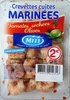 Crevettes cuites marinées - Produit