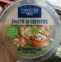 Émietté de Crevettes au Fromage Blanc & Fines Herbes - Product