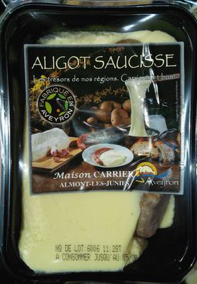 Aligot Saucisse - Produit - fr