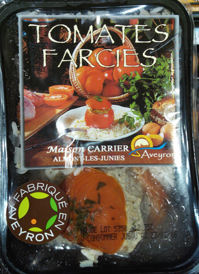 Tomates farcies - Product - fr