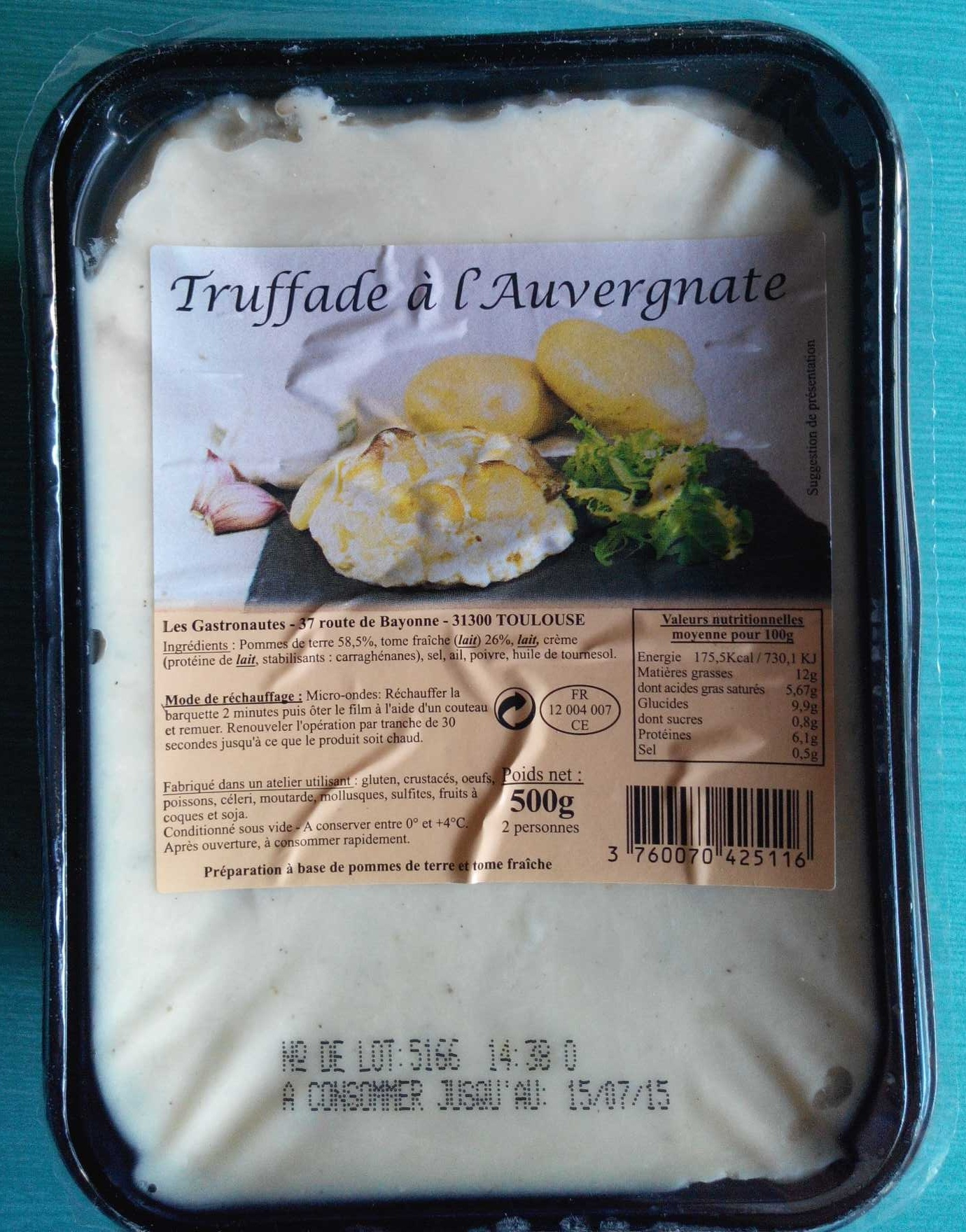 Truffade à l'Auvergnate - Product - fr