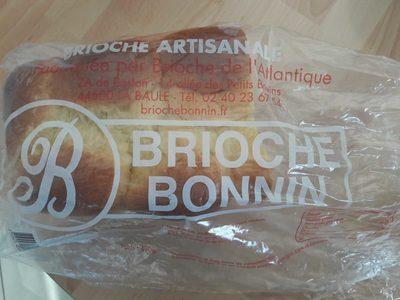 Brioche Bonnin 490 g - Produit - fr
