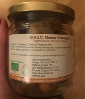Châtaigne au naturel - Ingredients