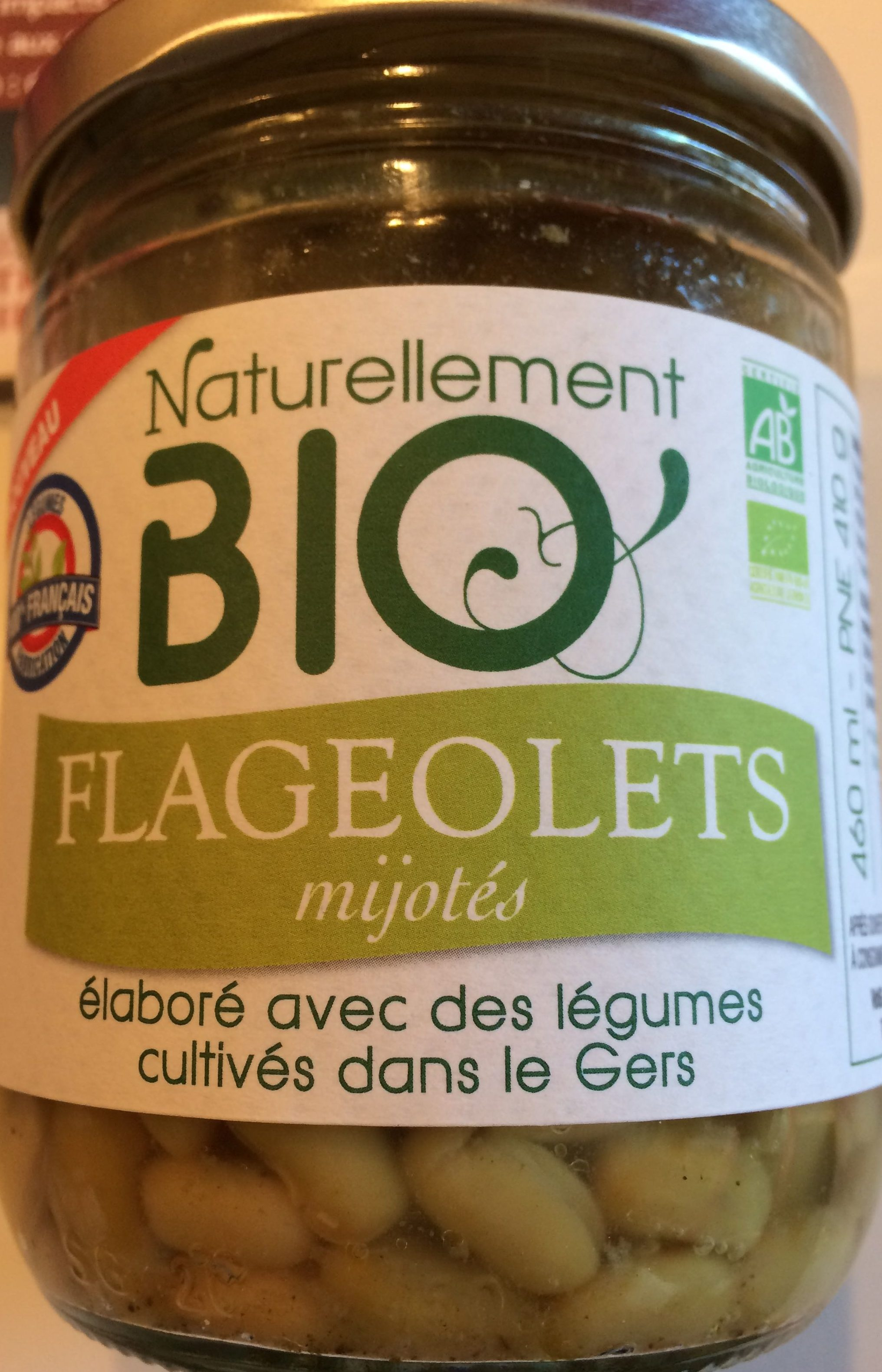 Flageolets mijotés - Produit