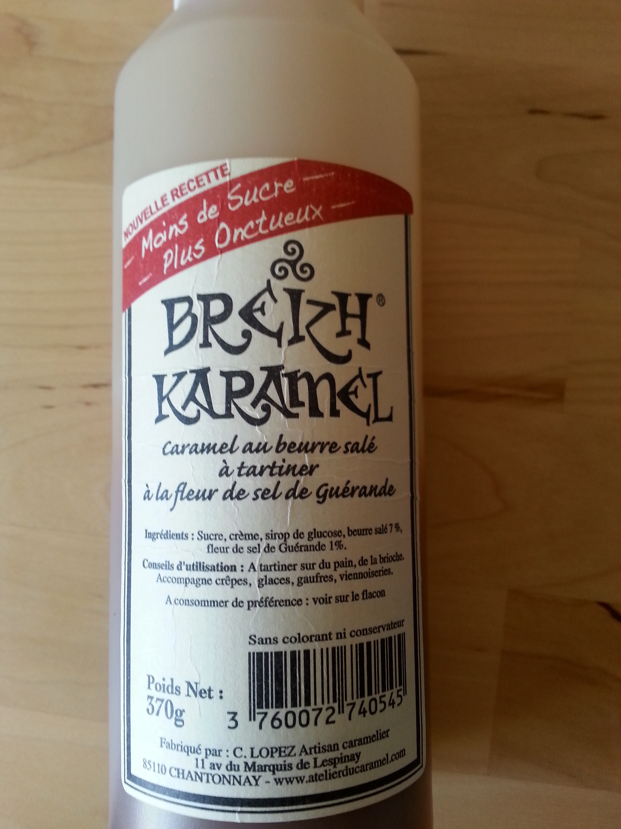 Breizh® Karamel - Produit