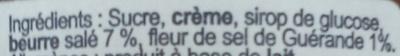 Breizh Karamel - Ingrediënten - fr