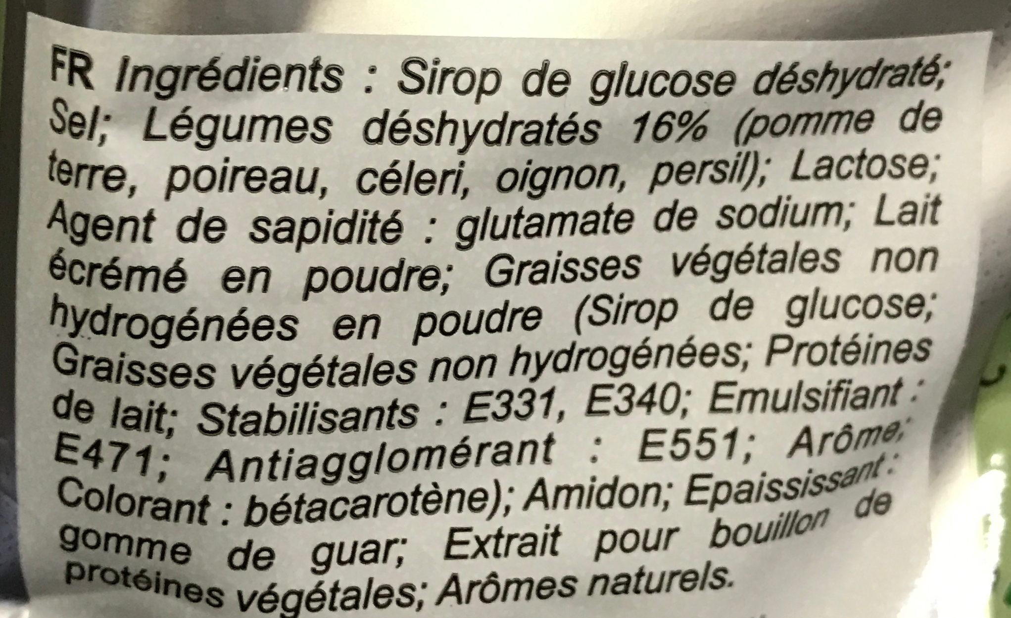 Préparation instantanée pour Potage Provençal - Ingredients