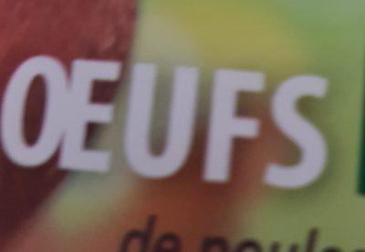 10 Oeufs bio moyens L'OEUF DES MAUGES - Ingrediënten