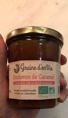Onctueux de Caramel au Beurre salé au sel de Guérande - Product - fr