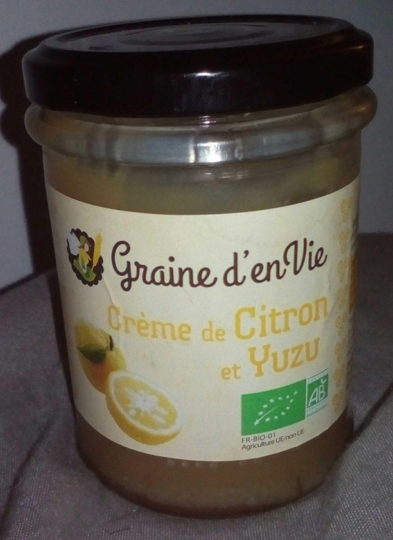 Crème de citron et Yuzu - Product