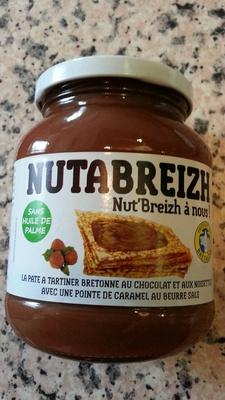 Pâte à tartiner Bretonne au chocolat et aux noisette - Prodotto - fr
