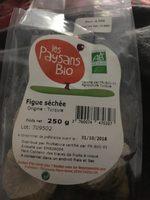 Figue séchée - Ingrediënten - fr