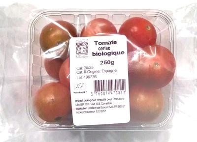 Tomate cerise biologique - Produit