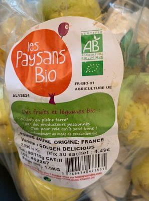 Pommes jaunes - Product