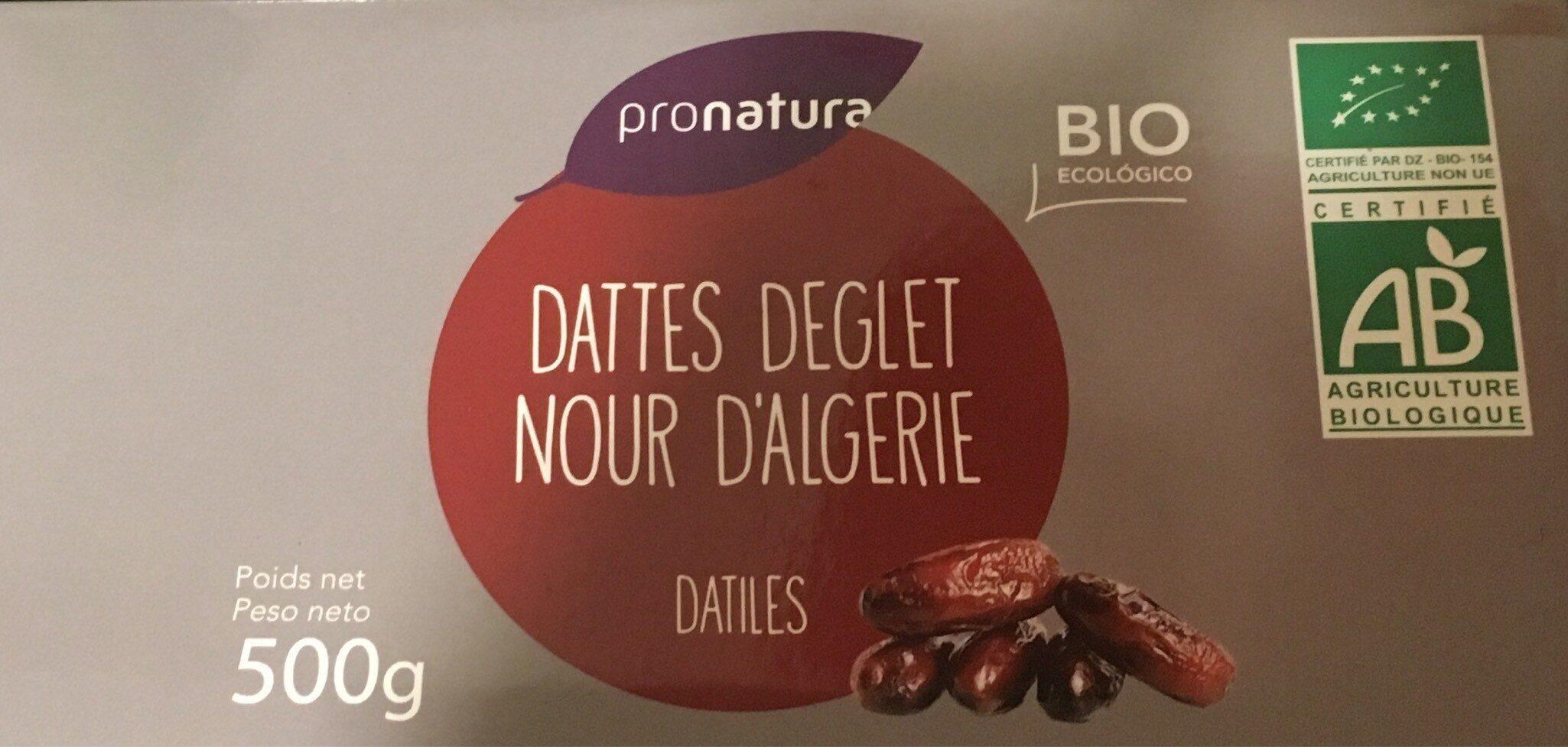 Dattes Deglet Nour D'Algerie - نتاج - fr