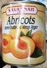 Abricots semi-fruits au sirop léger - Produit