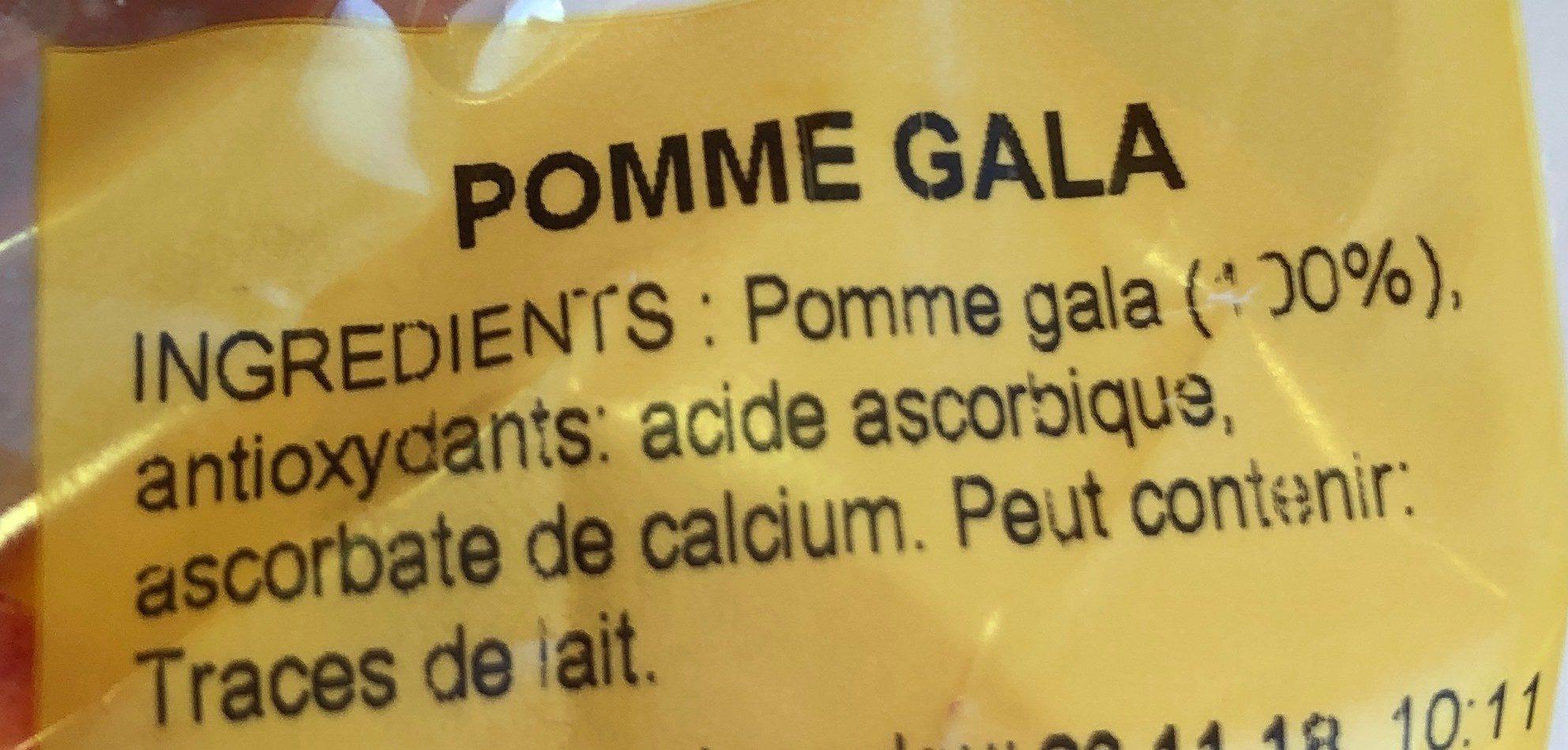 Les fruits by KFC - Ingrédients - fr