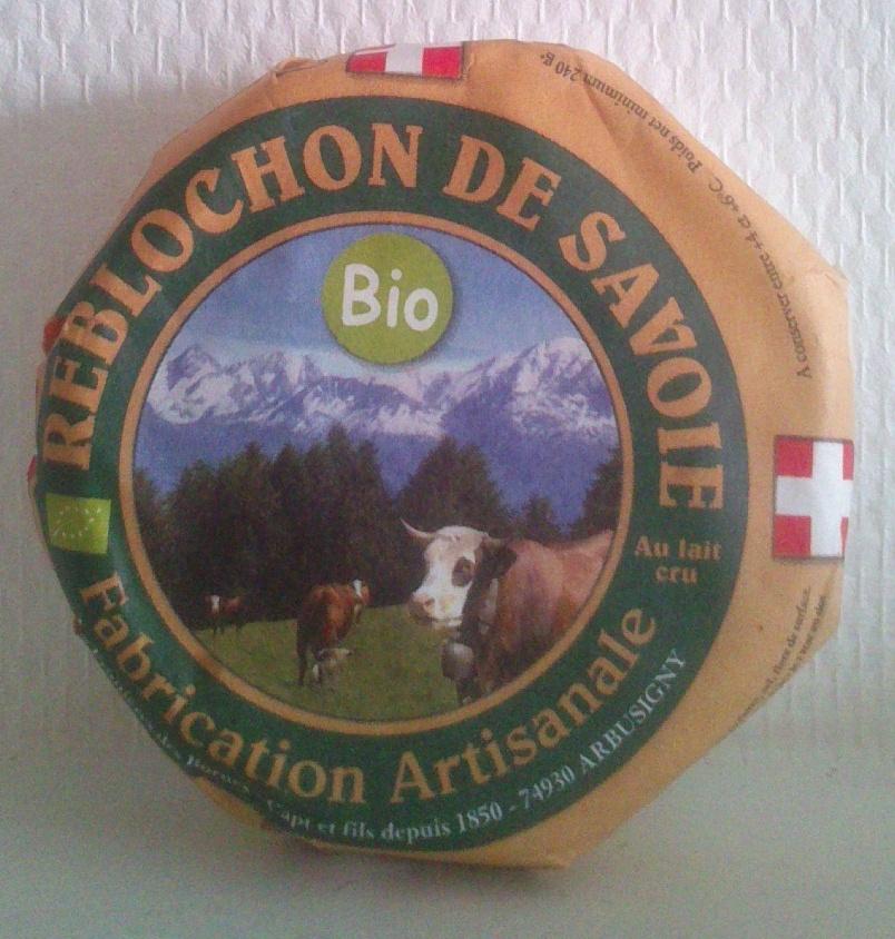 Reblochon de Savoie (22% MG) Bio - Product - fr