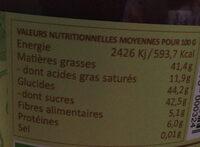 Chokenut Pâte à tartiner sans lait - Valori nutrizionali - fr